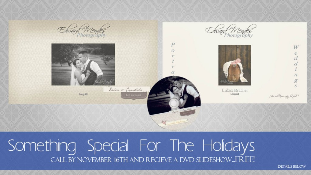 Special Offer - Complimentary DVD Slideshow