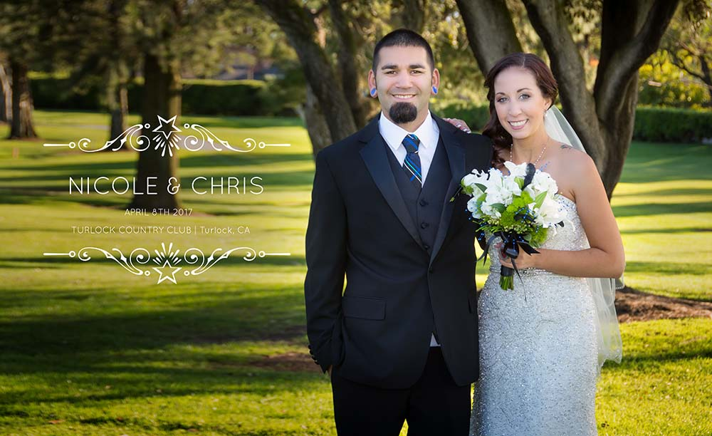 Turlock Country Club Wedding